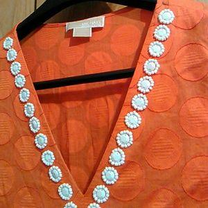 Michael kors Vneck blouse